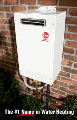 RHEEM TANKLESS HOT WATER HEATERS